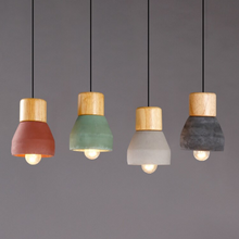 Pendant Wood Drop Lighting
