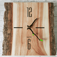 split log clock