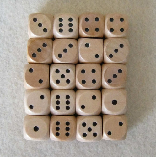 dice for trade show games