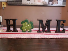 HOME decoration with shamrock