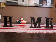 HOME decoration with 4th of July