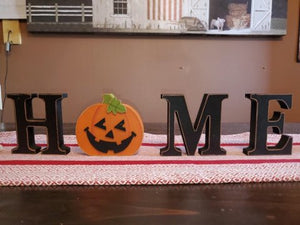 HOME decoration with pumkin