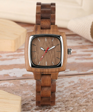 his and her wood watches-single