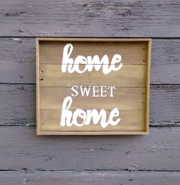 Home Sweet Home pallet wood sign