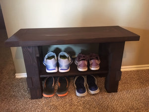 entryway mud bench