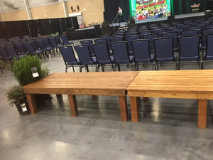 benches for stage seating