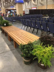 benches for decoration and function