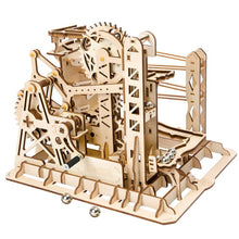 roller coaster model kit puzzle