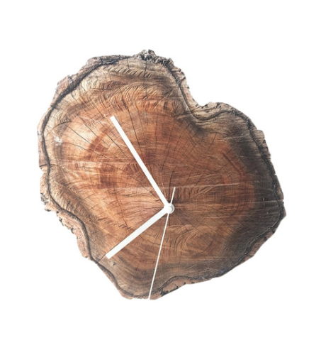 Log slice wall clock