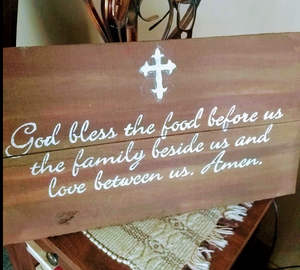 Pallet Prayer Sign