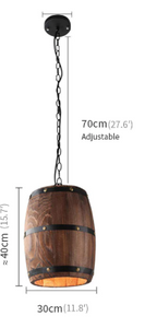 oak barrel measurements