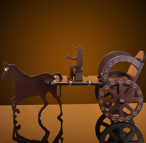 wine holding carriage