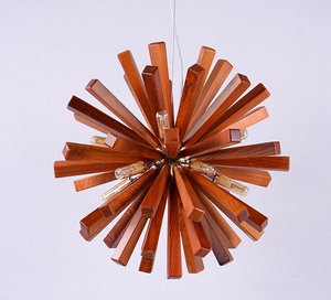 cherry wood burst light-off