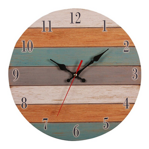 crafted wood made pallet clock