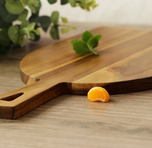 cutting board-laying on counter