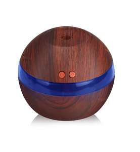 dark wood humidifier diffuser