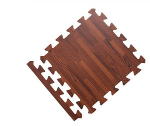 dark wood grain floor mat tile