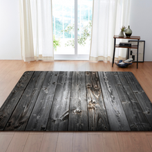 Distressed Pallet Fence rug