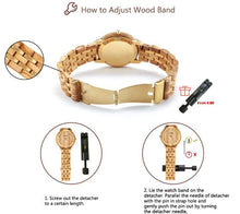 lux wood watch instructions for adjusting