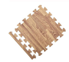 light wood grain floor mat tile