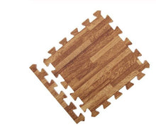 medium wood grain floor mat tile