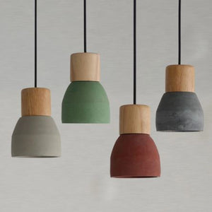 4 pendant lights hanging