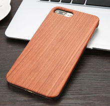 rosewood grain iphone case