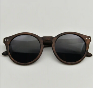 cateye wood sunglasses