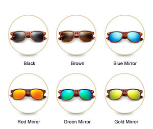 various colors of sunglass lenses