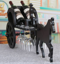 wine carriage display