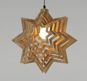 pendant star light-on