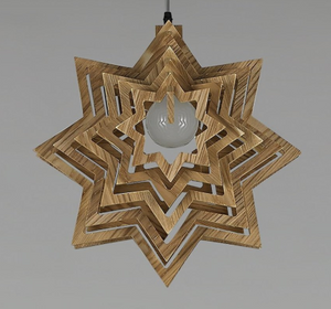 star pendant light-off