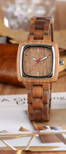 his and her wood watches-hers
