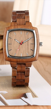his and her wood watches-his