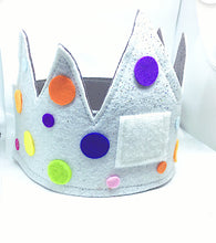 Load image into Gallery viewer, Birthday Crown - added extras