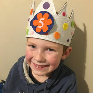 Birthday Crown - added extras