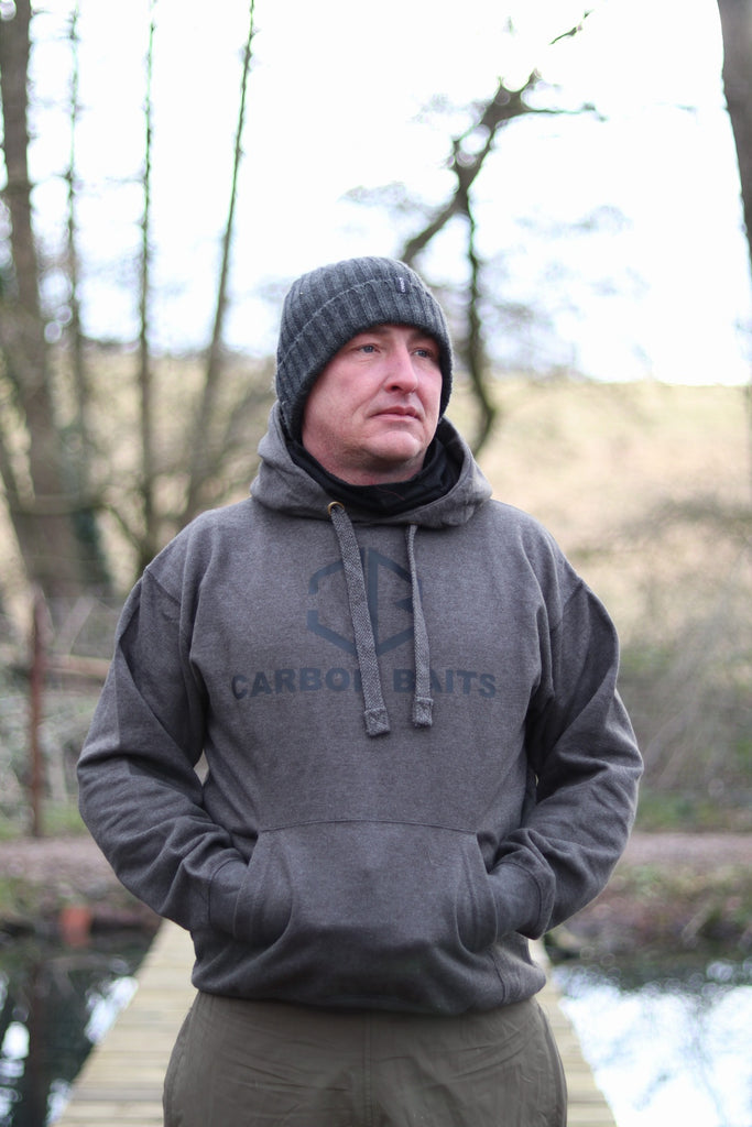 Carbonbaits Grey Stash Hoody