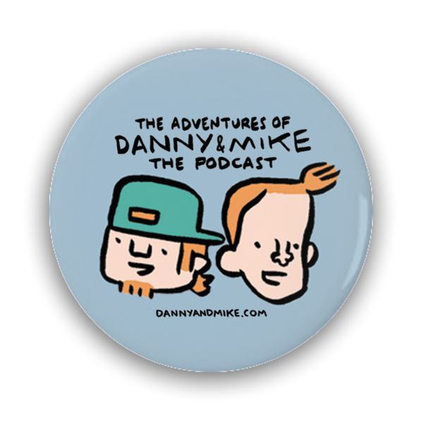 Danny and Mike - Comic Heads Button
