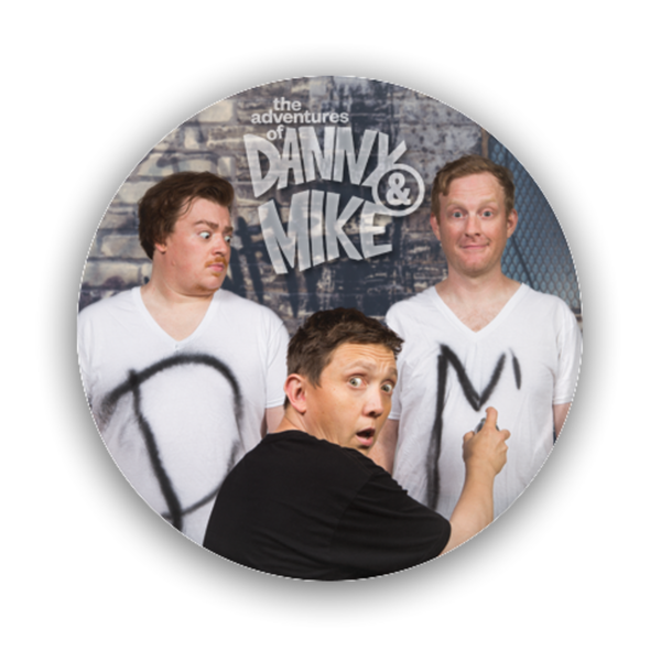 Danny and Mike - Spray Paint Button