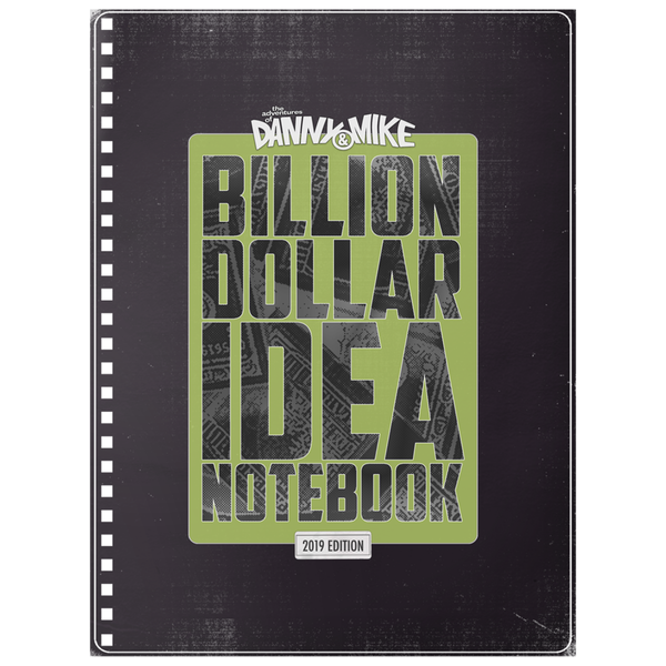 2019 Billion Dollar Idea Notebook