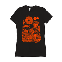 Danny & Mike - Halloweenie 2019 Women's T-Shirt (Orange)