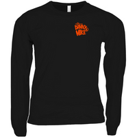 Danny & Mike - Halloweenie Long Sleeve Shirt (Black/Orange)