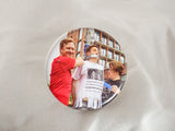 Danny and Mike - Pole Flyer Button