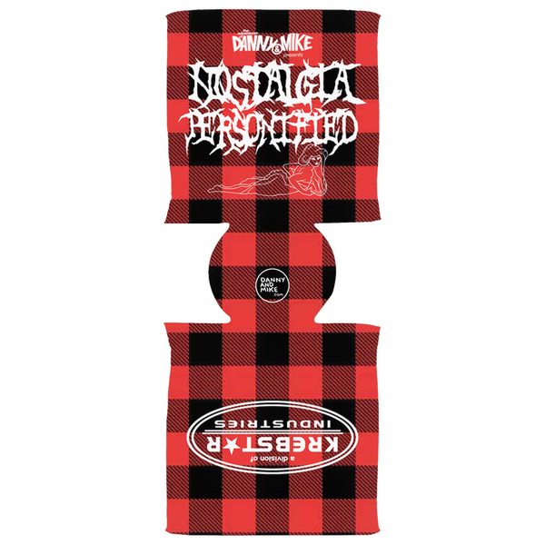 Danny and Mike - Plaid Krebstar Koozie