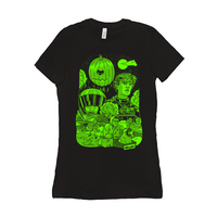 Danny & Mike - Halloweenie 2019 Women's T-Shirt (Green)
