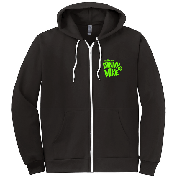 Danny & Mike - Halloweenie Zip-Up Hoodie (Black/Green)