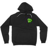 Danny & Mike - Halloweenie Pullover Hoodie (Black/Green)