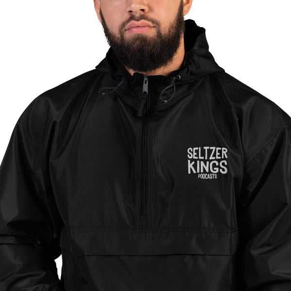 Seltzer Kings - Embroidered Champion Packable Jacket