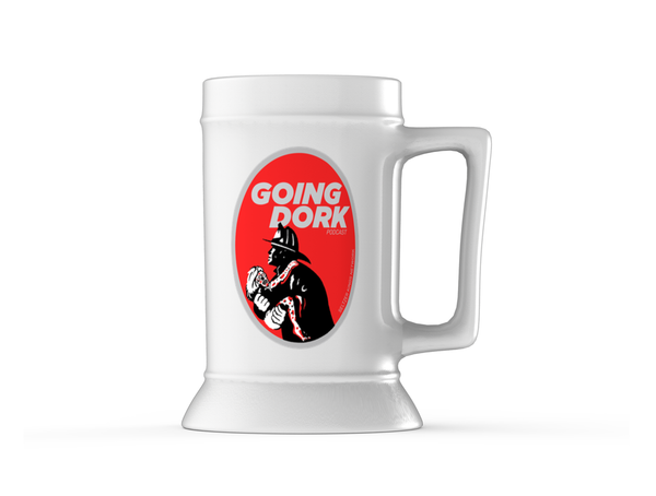 "Going Dork - ""Alien Finder"" Beer Stein"