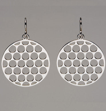 Division Dotted Earrings
